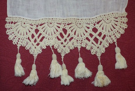 crocheted trim