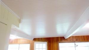 beadboard ceiling
