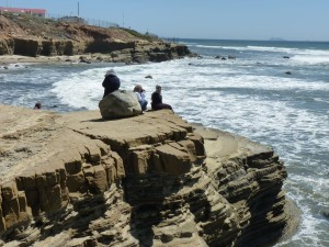 waves at Cabrillo