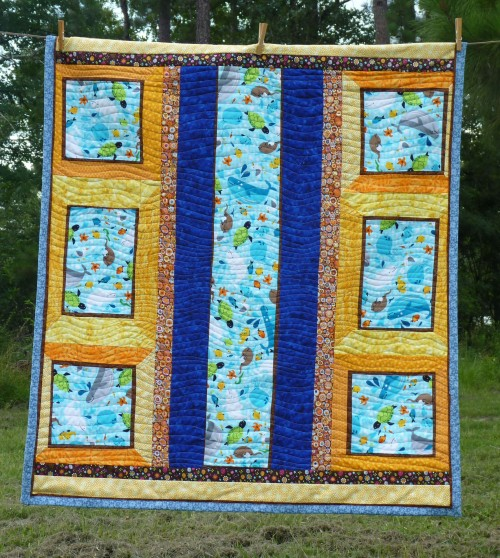 middle-sized quilt