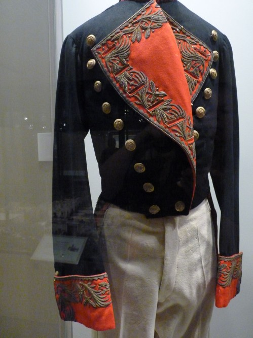 Mexican officer's uniform