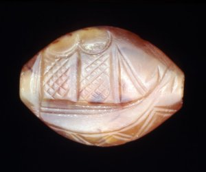 Minoan seal stone from 1700 - 1450 BC.