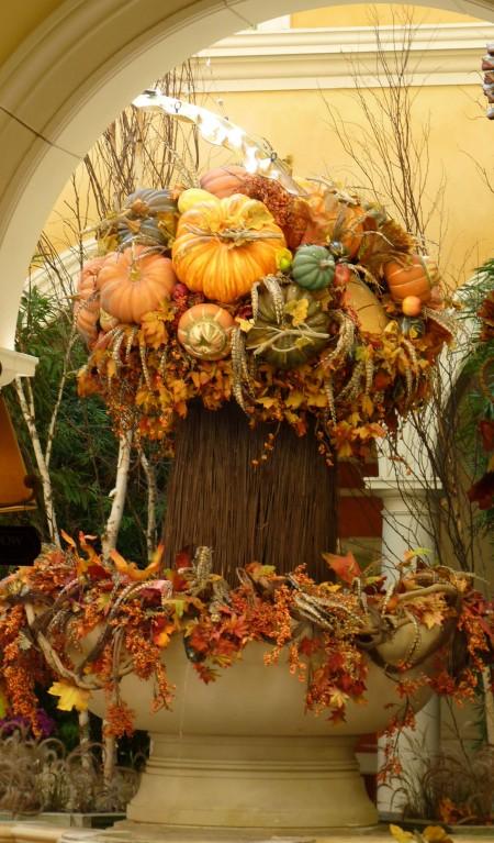 Autumn arrangement.