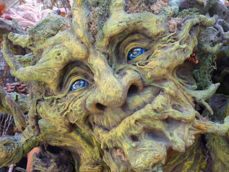 Green Man detail