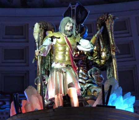 "Animatronic ""Greek god"""