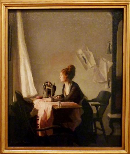"""The Open Window"" by Elizabeth Vaughan Okie Paxton"
