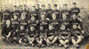 Football team, circa 1925.