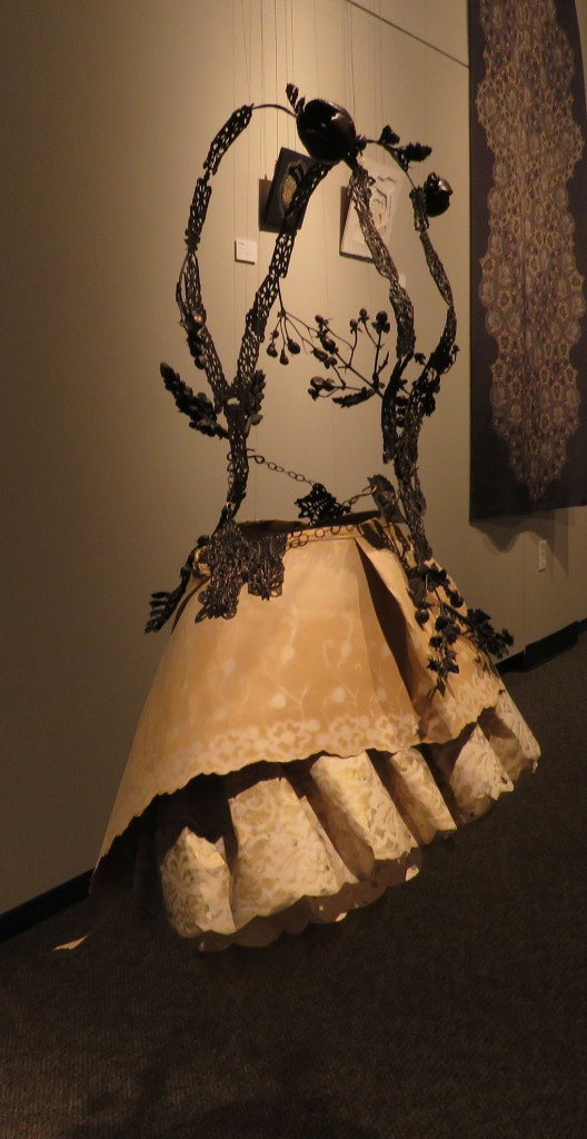 Another view of the Estate Dress by Tiffany Gordon.
