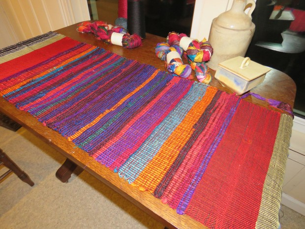 The gorgeous table runner.