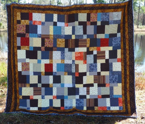 This quilt looks like it would have lots of value contrast.  Does it?