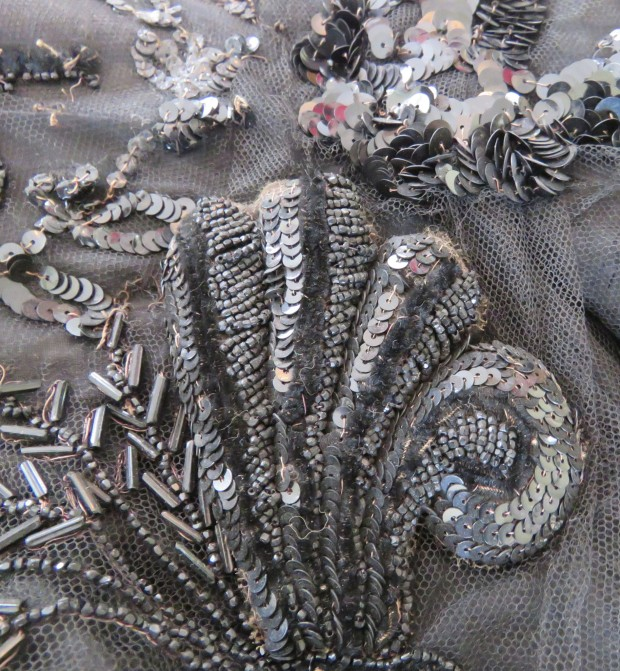Close-up of the embellishment.
