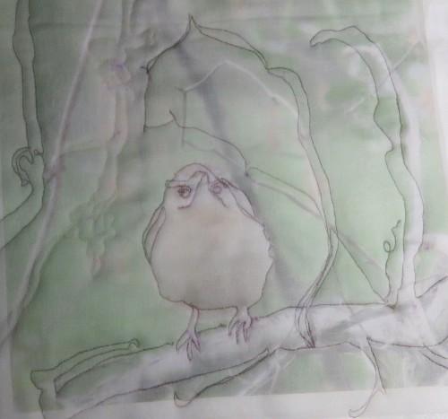 sketch organza detail