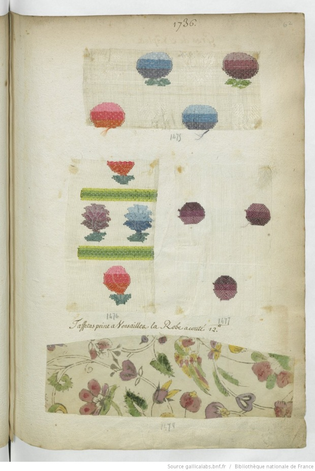 Painted textiles called indiennes.