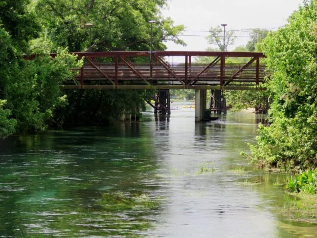 San Marcos River.
