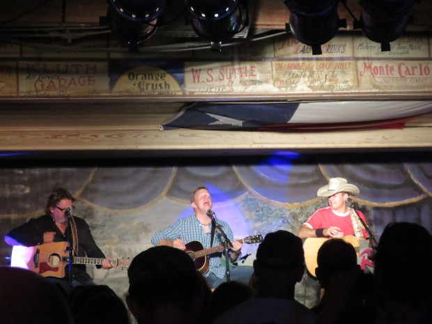 Larry Joe Taylor, Cory Morrow, and Roger Creager