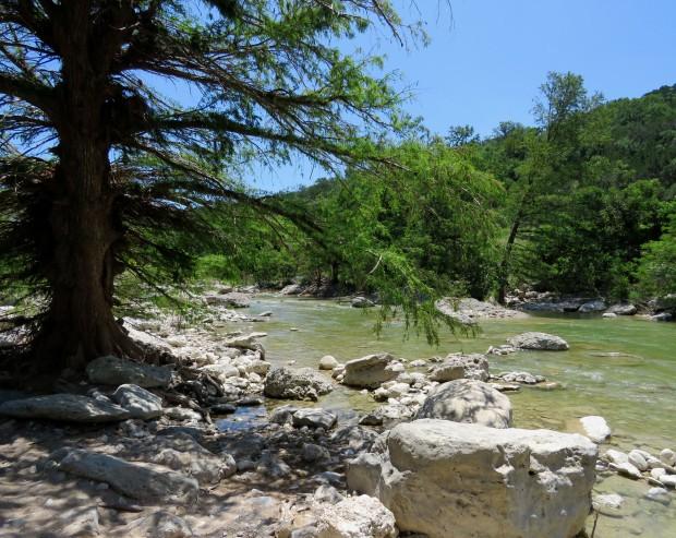 Pedernales River.