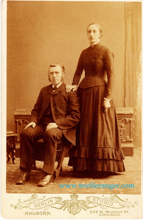 Teunis Stob, 26, and Janna Lurtesma, 16, in 1881.