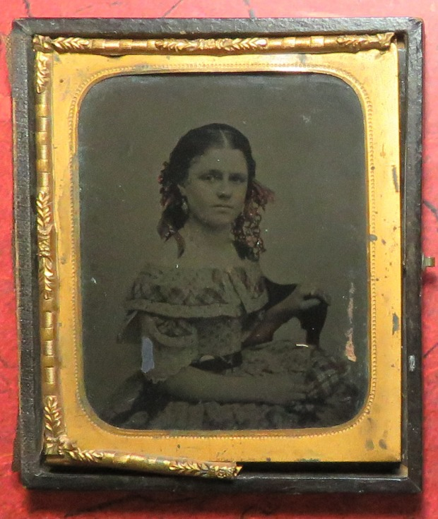 Young belle, circa 1859.