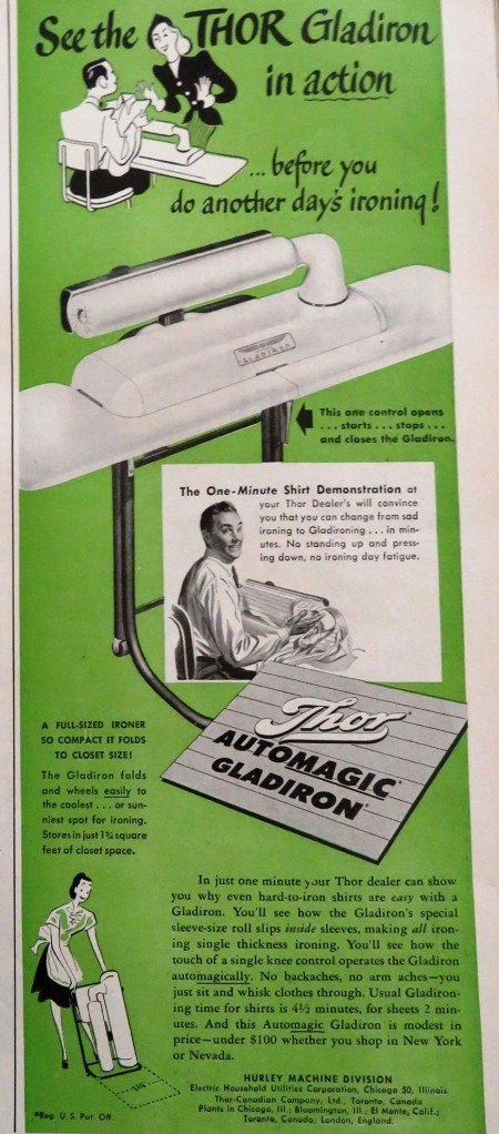 A special ironing device for shirts, for less than $100!