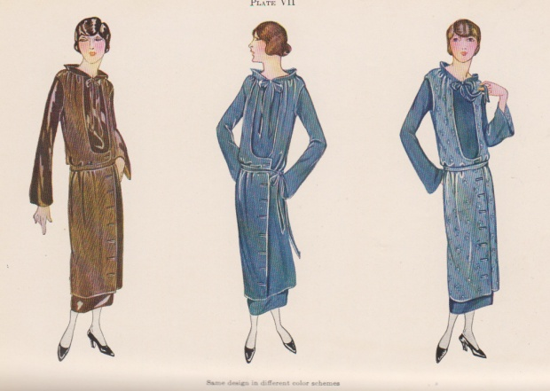 Plate VII from Clothing for Women.