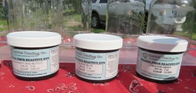 Fiber reactive dyes.