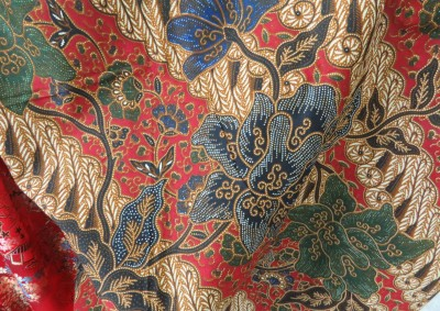 Batik from the 1980s.