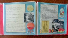 Embellished pages.