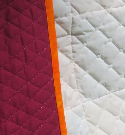 Pre-quilted fabrics.