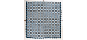 Copp Family coverlet, Smithsonian TE*H6678