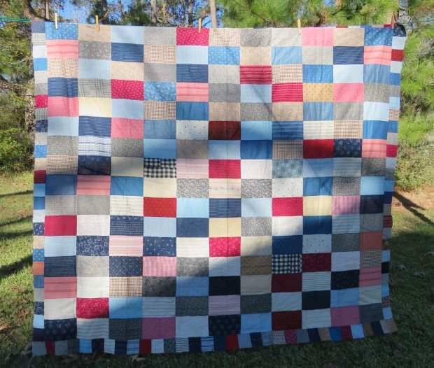 Vintage quilt top.