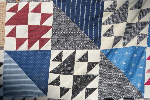 Blocks showing representative fabrics.