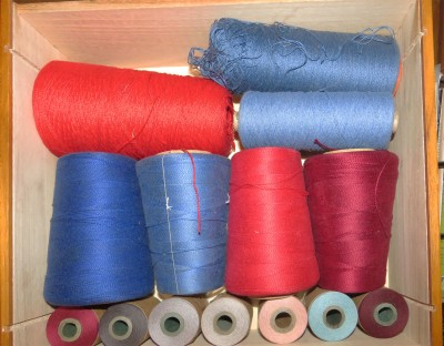 Cotton yarn that needs to be made into something useful.