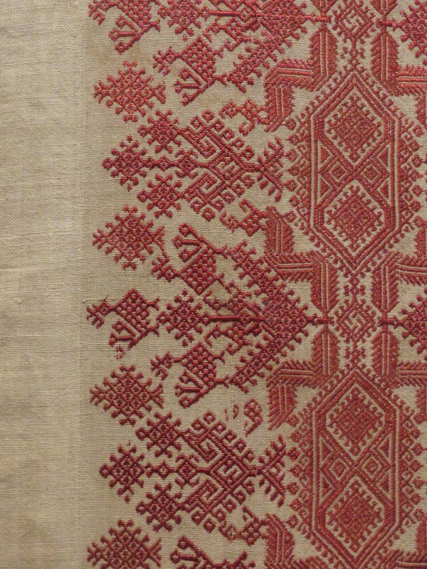 The Richness Of Greek Embroidery Deep In The Heart Of Textiles