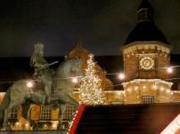 Dusseldorf dressed for Christmas.