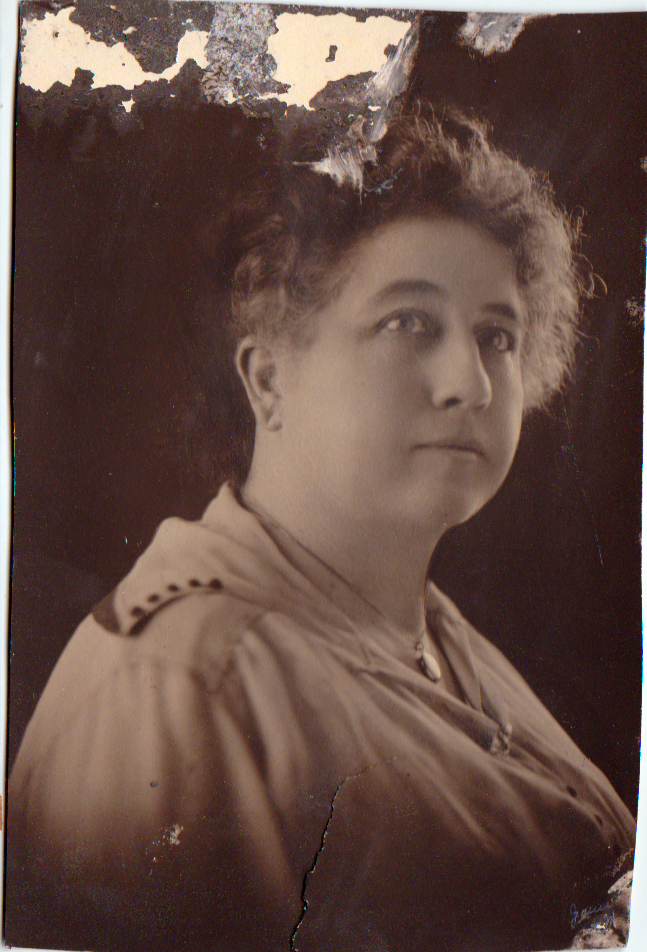 old photo of older woman