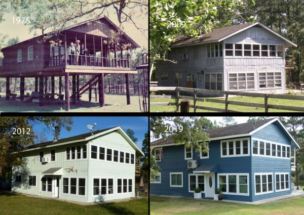 one house through the decades
