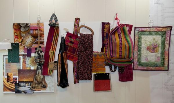 collection of inspiring textiles