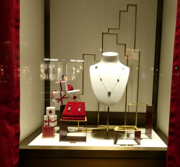cartier shop window display