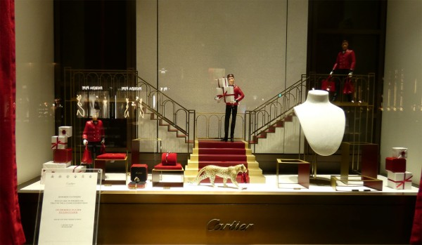 cartier christmas display