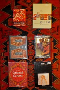 covers of books on oriental carpets