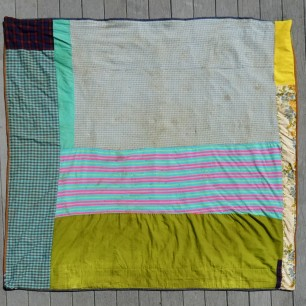 1970s quilt back