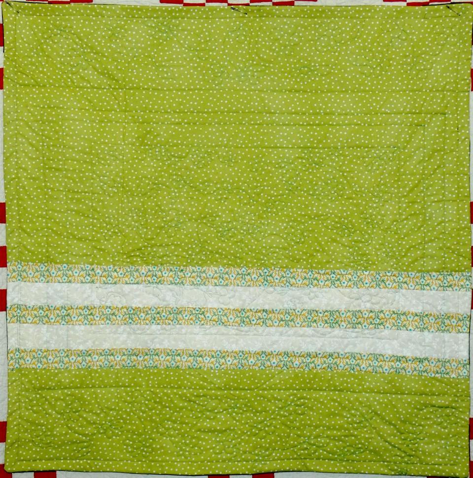 back of lap quilt