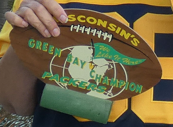commemorative green bay plaque from 1960s