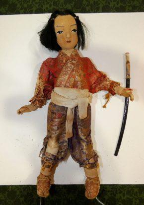 vintage male doll