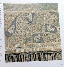 Lace patchwork in Janet Haigh's book.