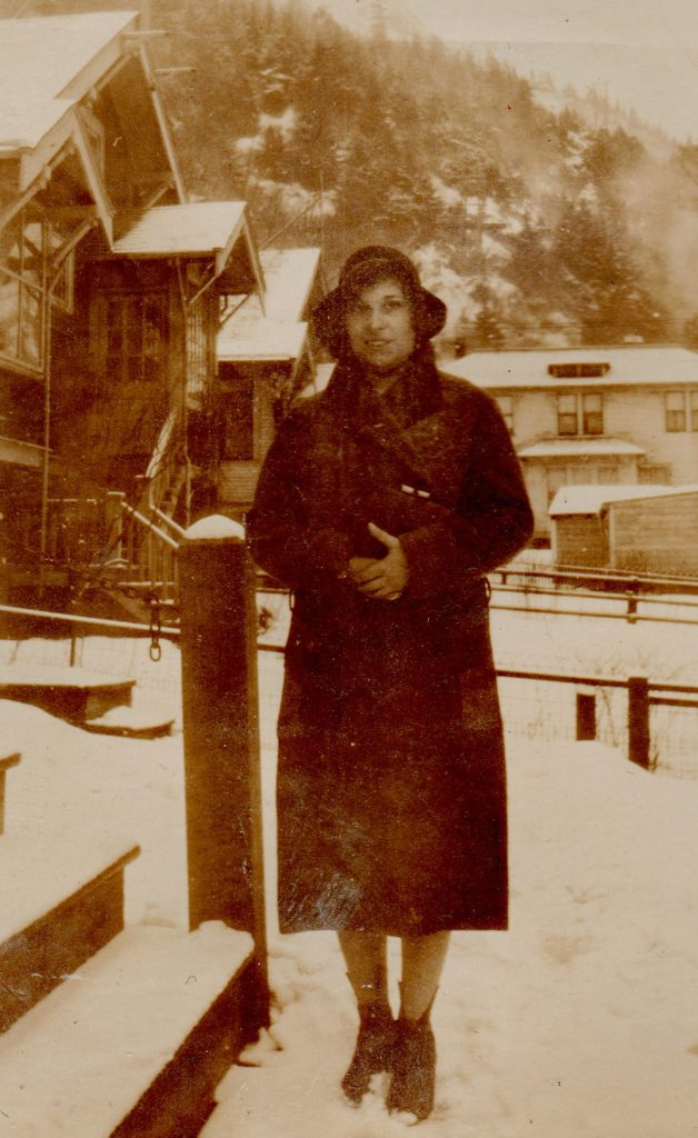 woman in coat and hat, Alaska, 1930s